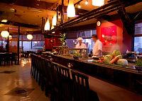 寿司屋風景 - 会食には寿司屋もお勧め