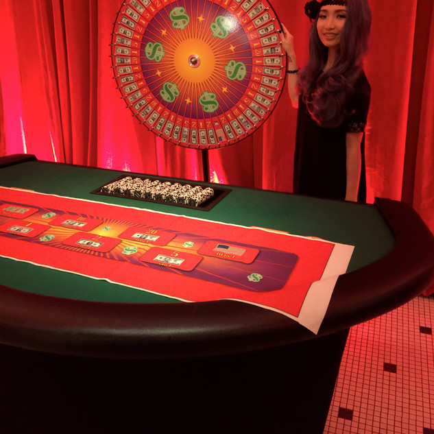 Money Wheel - Bourbon St. Club