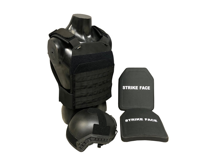 TARGE, FAST Helmet and Ballistic Plates Package