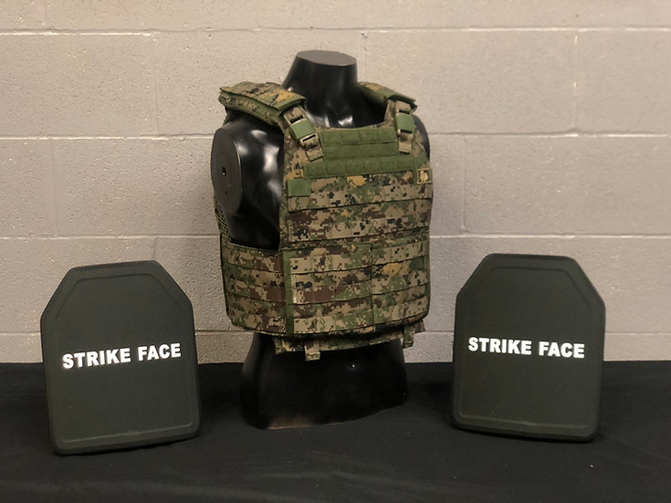 Plate Carrier and Ballistic Plates Package