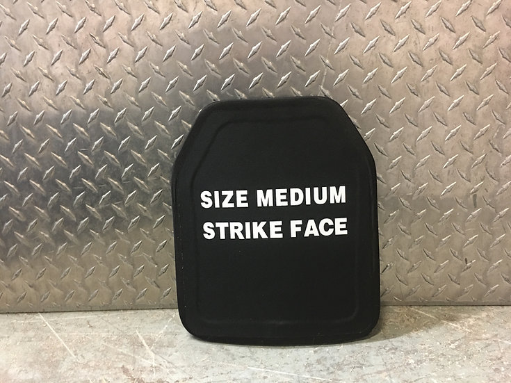 Pair (2 Plates) of Steel Ballistic Plates Level III+