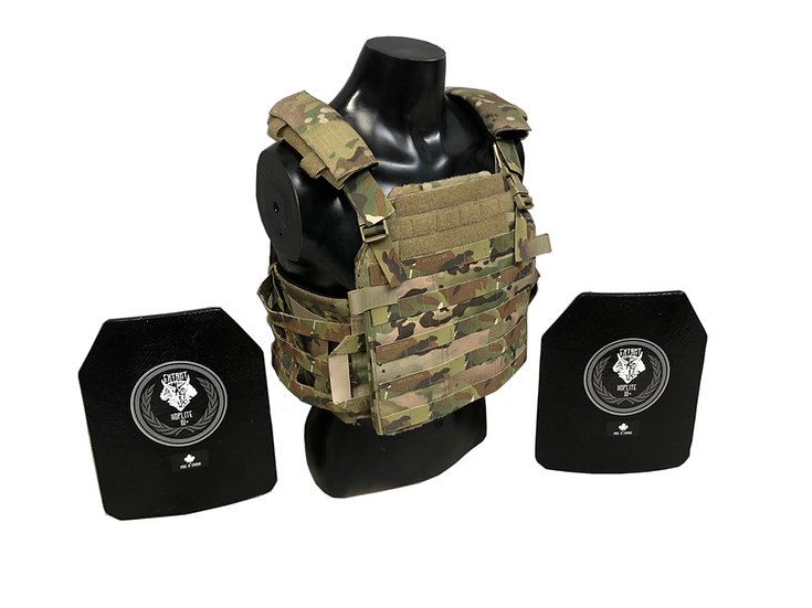 Made in Canada Body Armour Package