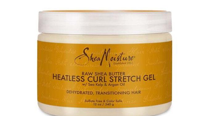 Raw Shea Butter Heatless Curl Stretch Gel