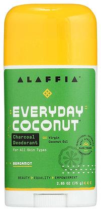 EveryDay Coconut Charcoal Deodorant - Bergamot