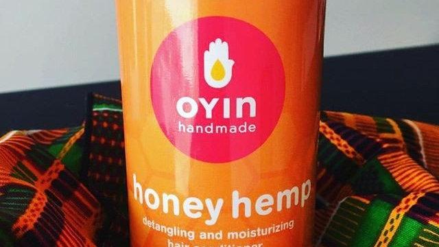 Honey Hemp Detangling & Moisturizing Hair Conditioner 8.4 oz