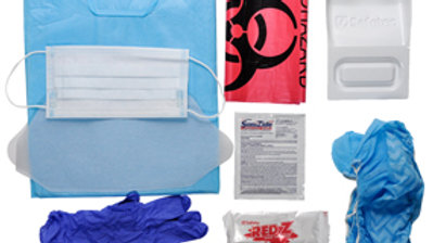 Blood & Bodily Fluid Cleanup Kit