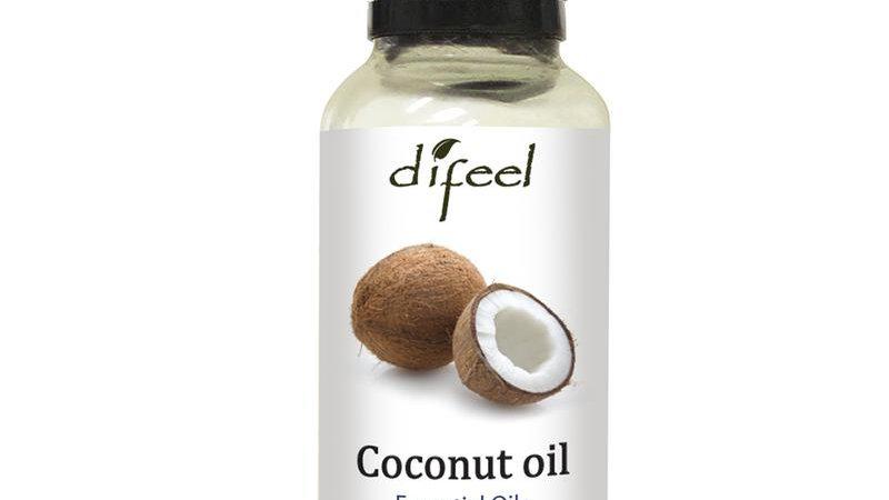 Difeel Essential Oil 100% Pure Coconut Oil 1 Oz.
