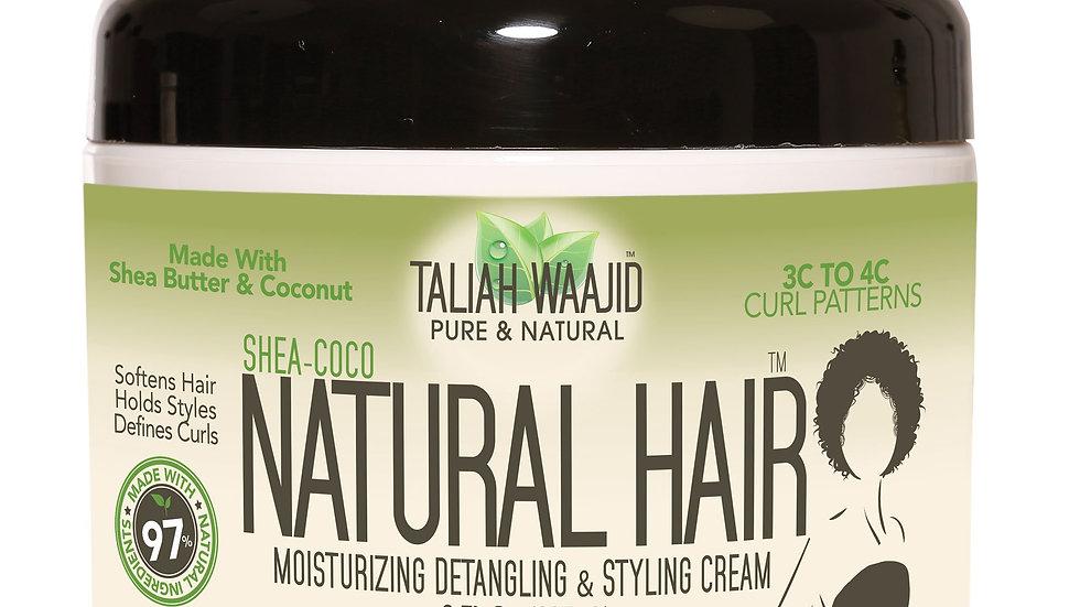 Shea-Coco Natural Hair Style Cream 8oz For 3C-4C Hair