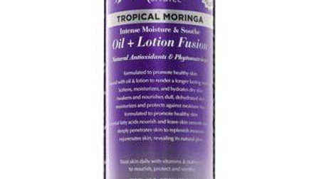 Tropical Moringa Oil + Lotion Fusion