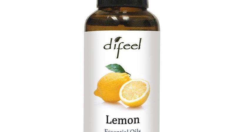 Difeel Essential Oil 100% Pure Lemon Oil 1 Oz.