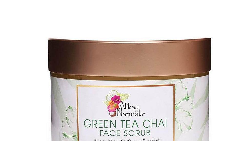 Green Tea Chai Face Scrub