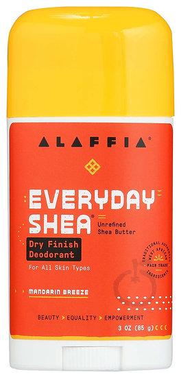 EveryDay Shea  Dry Finish Deodorant - Mandarin Breeze