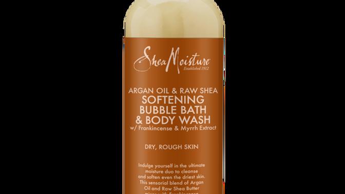Argan Oil & Raw Shea Softening Bubble Bath & Body Wash
