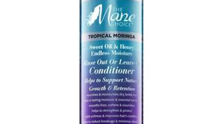 Tropical Moringa Sweet Oil & Honey Endless Moisture Rinse Out or Leave-In Condit