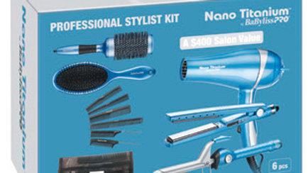 BaByliss Pro Nano Titanium Professional Stylist Kit