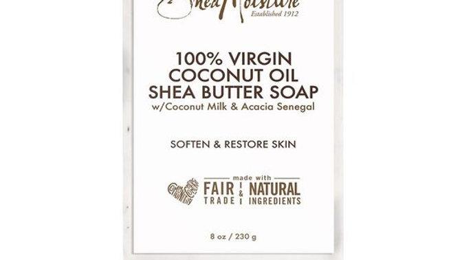 100% Virgin Coconut Oil Daily Hydration Bar Soap