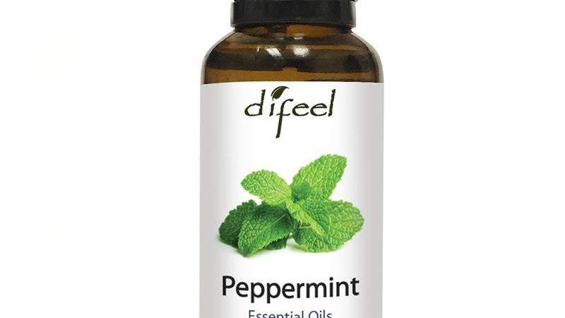 Difeel Essential Oil 100% Pure Peppermint Oil 1 Oz.