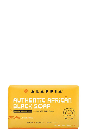 Authentic African Black Soap Triple Milled - Unscented