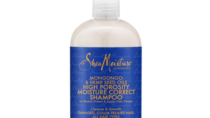 Mongongo & Hemp Seed Oils High Porosity Moisture-Seal Shampoo