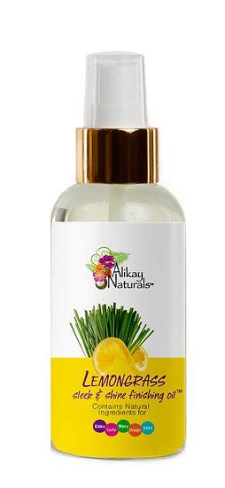 Lemongrass Sleek And Shine Finishing Oil 4 Oz