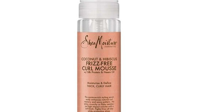 Coconut & Hibiscus Frizz-Free Curl Mousse
