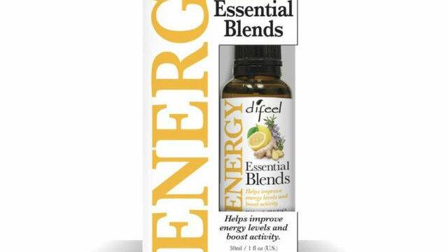 Difeel Essential Blend Oils Energy 1oz