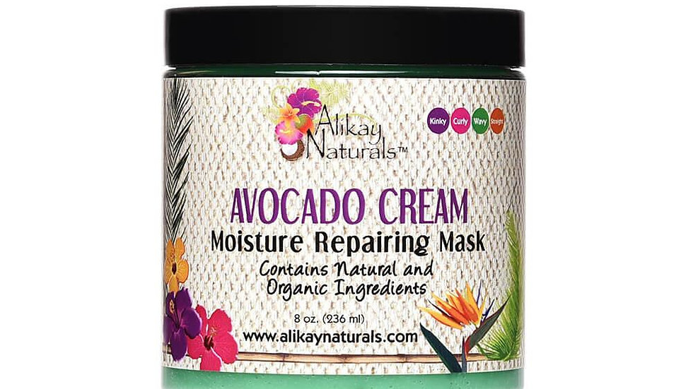 Avocado Cream Moisture Repairing Hair Mask 8 oz
