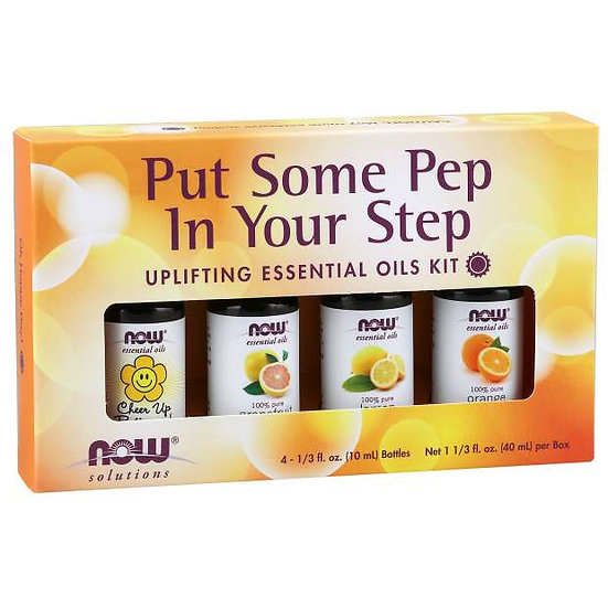 Put Some Pep in Your Step Oil Kit