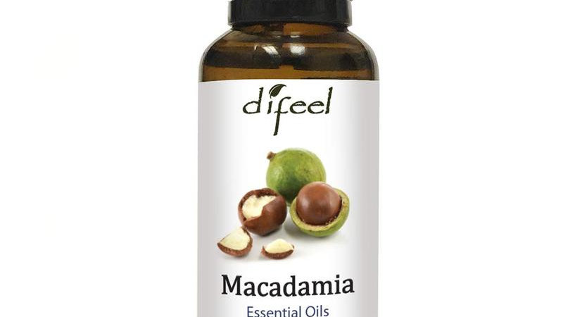 Difeel Essential Oil 100% Pure Macadamia Oil 1 Oz.
