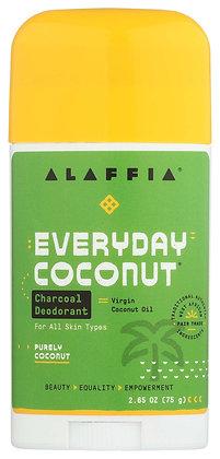 EveryDay Coconut Charcoal Deodorant - Vetiver