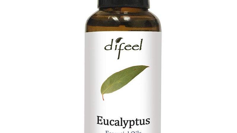 Difeel Essential Oil 100% Pure Eucalyptus Oil 1 Oz.