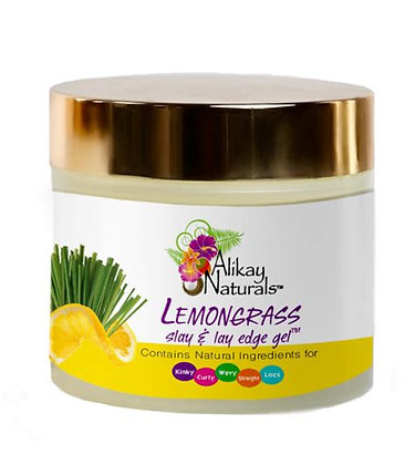 Lemongrass Slay And Lay Edge Gel 4 Oz