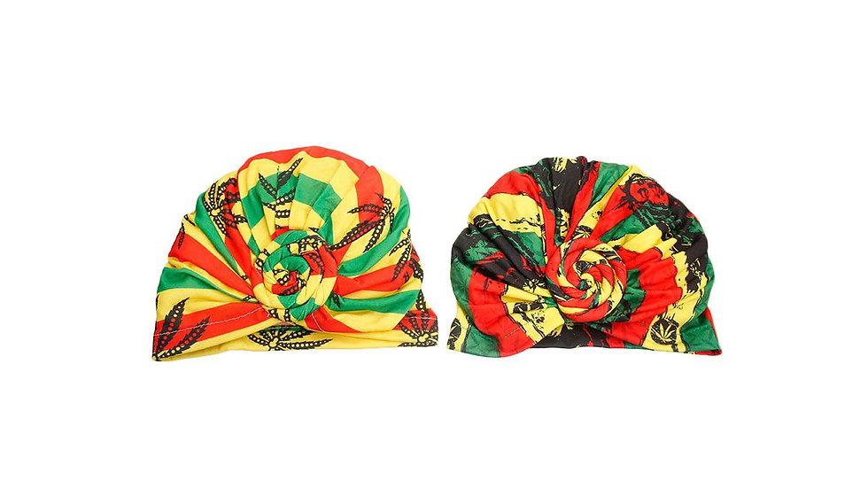 Bob Marley Head Wrap