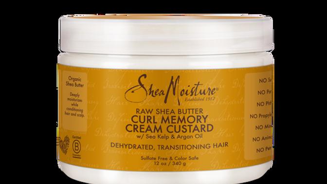 Raw Shea Butter Curl Memory Cream Custard