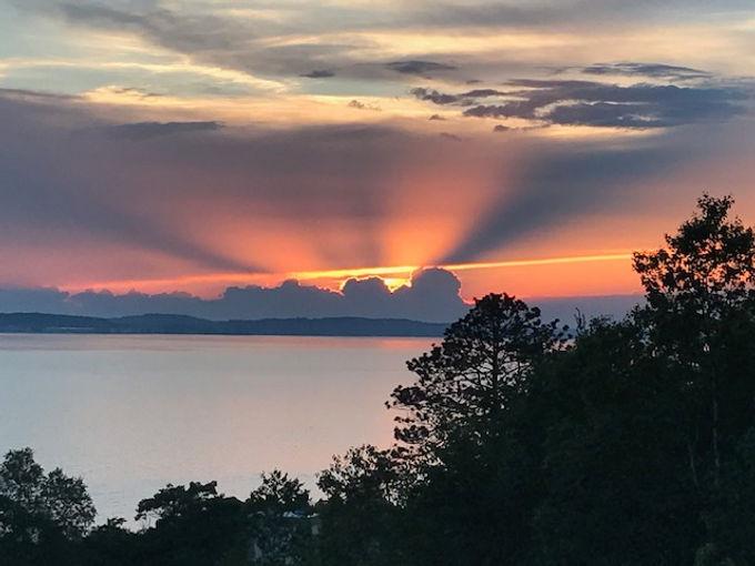 Mackinac Island sunset.JPG