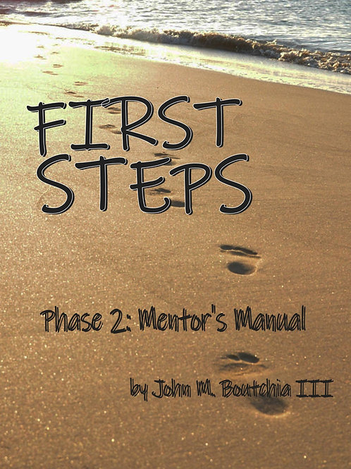 First Steps Bible Study Phase 2 Mentor Manual