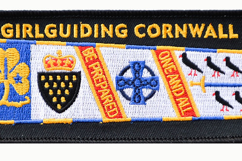 Cornwall County Standard Cloth Badge