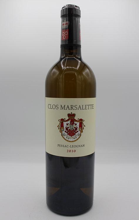 Clos Marsalette - 2010