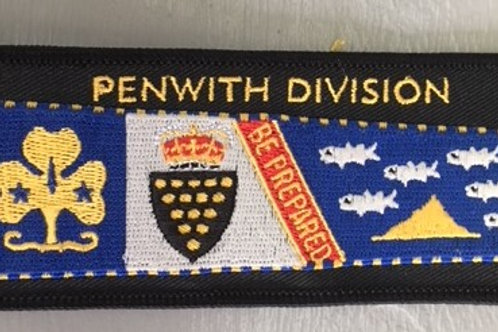 Penwith Division Standard Cloth Badge