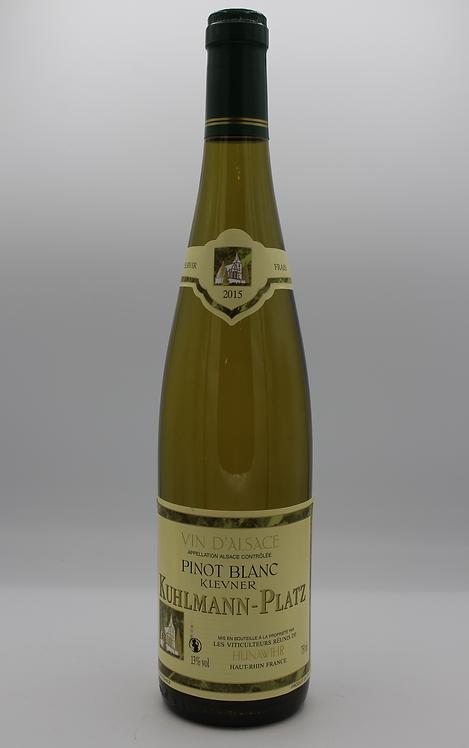 Pinot Blanc Kuhlmann Platz - 2015