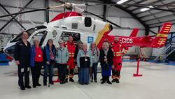 Truro Spires 26 Mar 2019 at Air Ambulanc