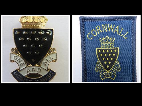 Girlguiding Cornwall County  Badges