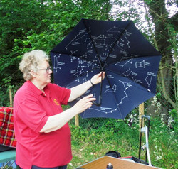 An umbrella of stars at Condurro