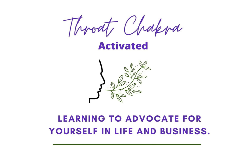 Activating Throat Chakra Advocating for yourself at work and at home