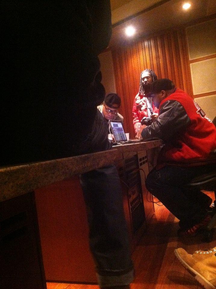 Keyz in Studio w/ Spliff Star