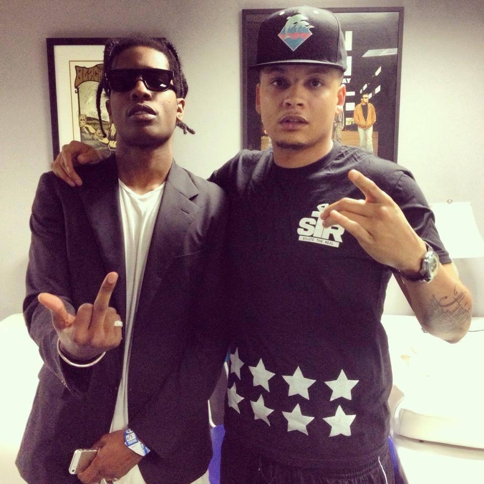 Keyz with ASAP Rocky
