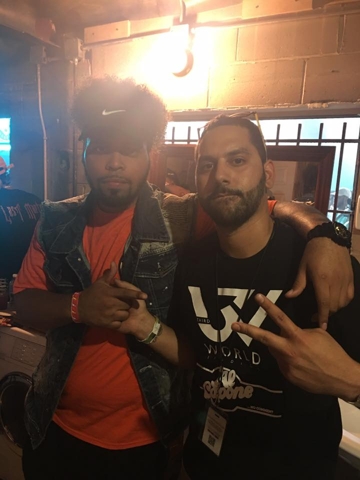 Chris Rivers and Castro
