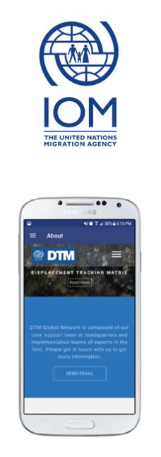 Référence Client IOM, développement informatique application mobile