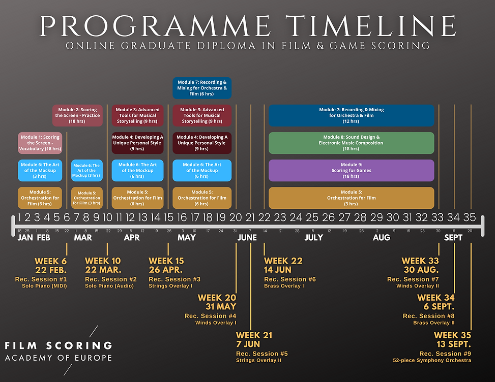 Programme Timeline