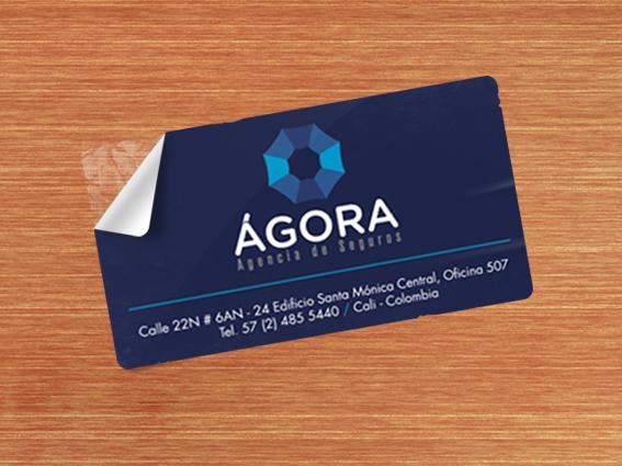 Stiker // Ágora